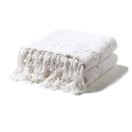 Humdakin Gæstehåndklæder 2 pak Hvid