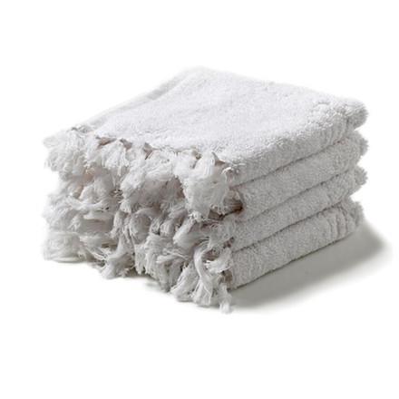 Humdakin Vaskeklude 4 Pak Hvid