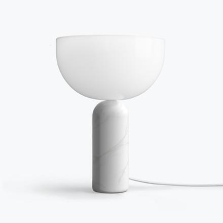 New Works Kizu Bordlampe Hvid Marmor Small