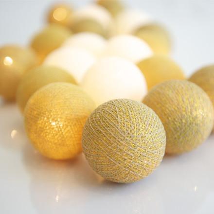 Irislight Lyskæde Guld