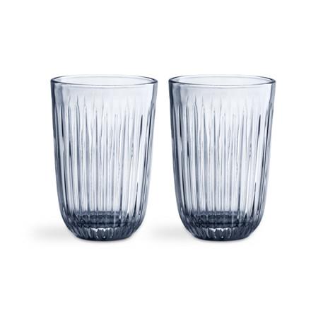 Kähler Hammershøi Drikkeglas 40 cl 2-pak Indigo