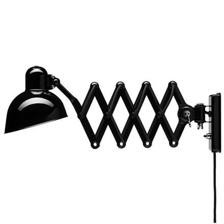 Kaiser Idell Væglampe Scissor 6718-W  Sort