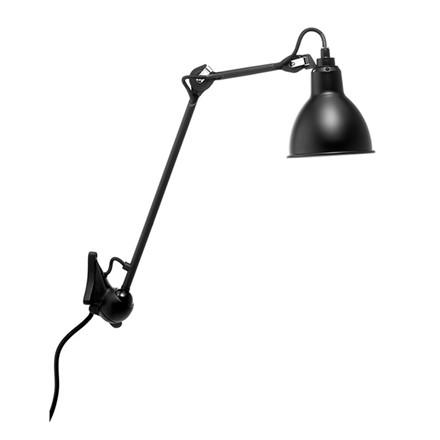 Lampe Gras No. 222 Væglampe Sort