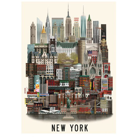 Martin Schwartz New York Plakat