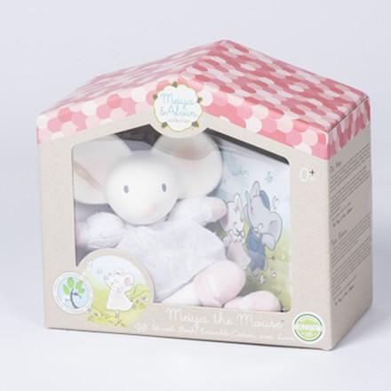 Meiya & Alvin, Bamse Mini Meiya med gummihoved og bog