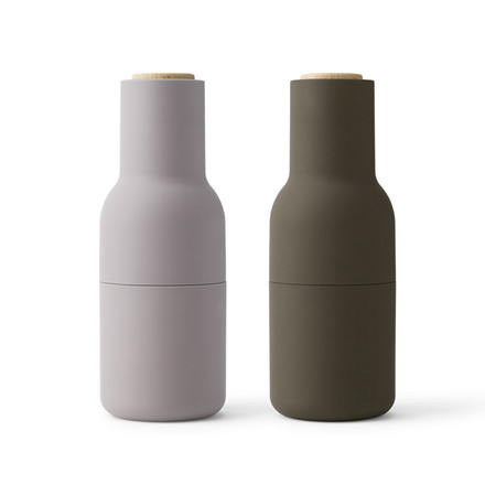 Menu Bottle Grinder Hunting Green / Beige