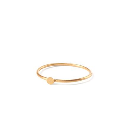 Pernille Corydon Micro Coin Ring Guld