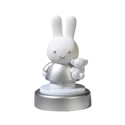 Miffy nightlight 3D silver