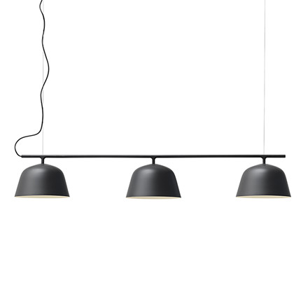 Muuto Lampe Ambit Rail Sort