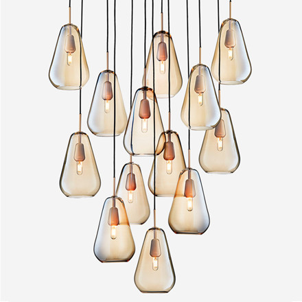Nuura Anoli 13 Lampe Nordic Gold/Gold