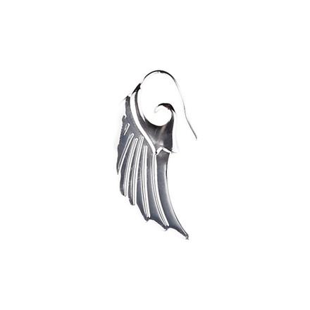 Plissé Copenhagen Ørering Angel Wing Stor Sølv