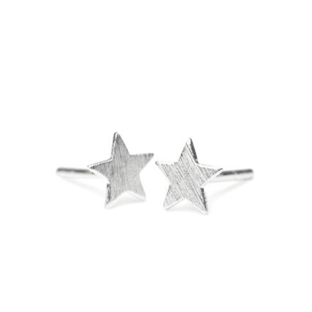 Pernille Corydon Ørestikker Small Star Sølv