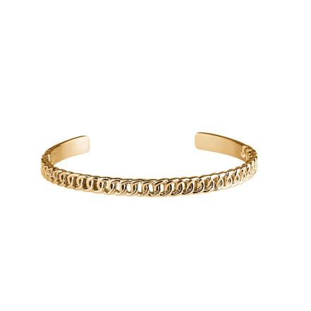 Plissé Copenhagen Armbånd Chain Guld