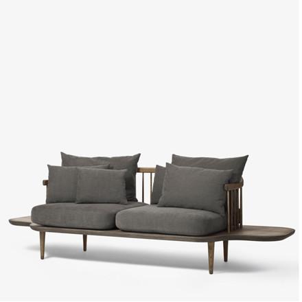 &tradition Fly Sofa SC3 M. Sideborde Smoked/Hot Madison 093