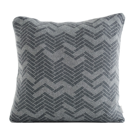 SemiBasic Floor Cushion Grey 50x50 cm