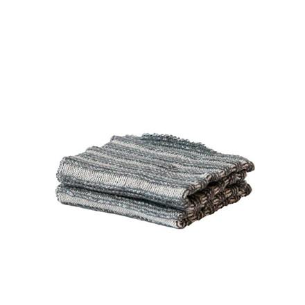 SemiBasic karklud, Wet rib cloth grå