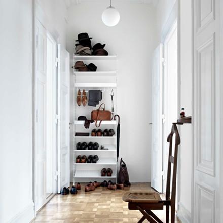 String Komplet Garderobe Opstilling Hvid
