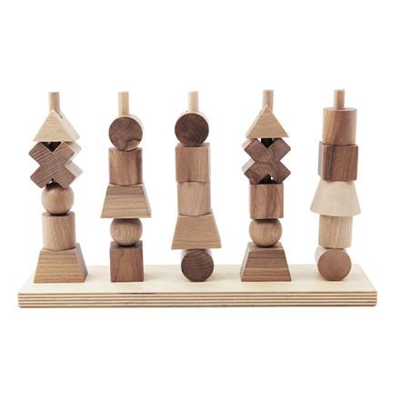 Wooden Story Stablelegetøj - Natur