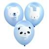A Little Lovely Company Ballon Baby Animals Blue