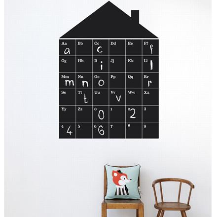 Ferm Living ABC House wallsticker