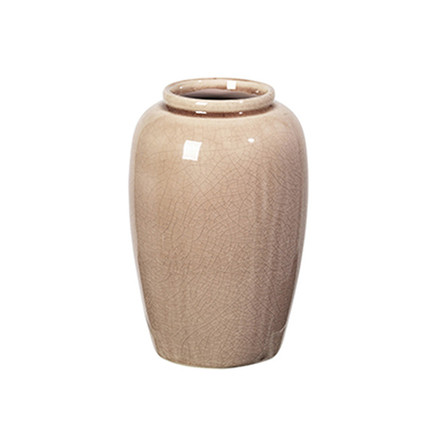 Broste Copenhagen Vase Crackle Fawn