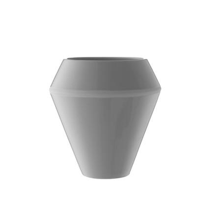 By Lassen Rimm Vase Høj Cool Grey