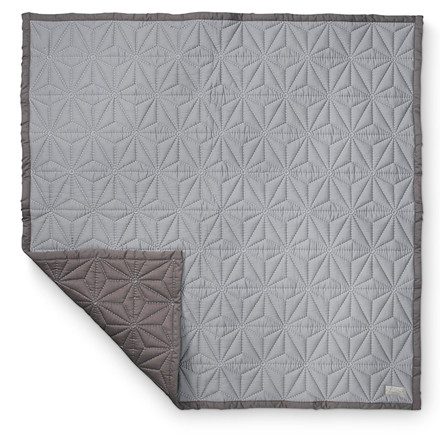 Cam Cam Junior Quilt Grey