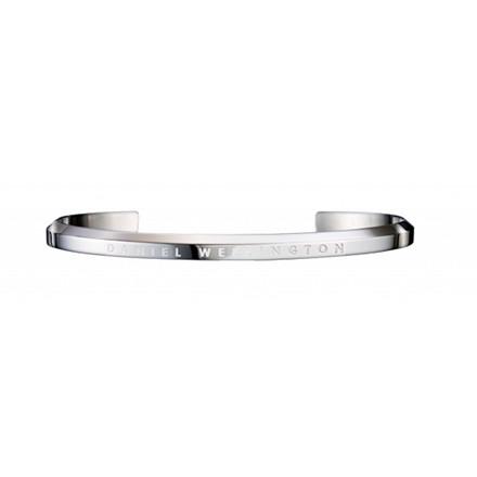 Daniel Wellington Armbånd Classic Cuff, Small Cuff Silver