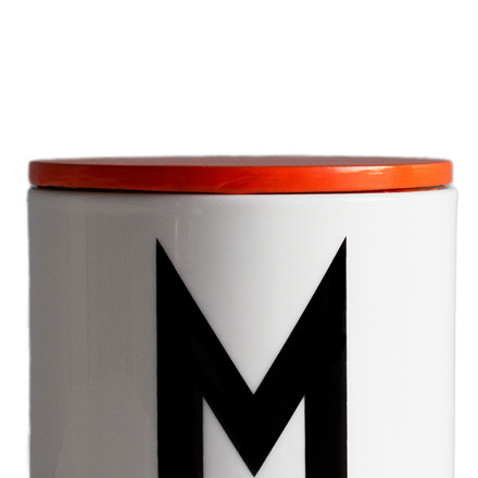 Design Letters Låg - Orange