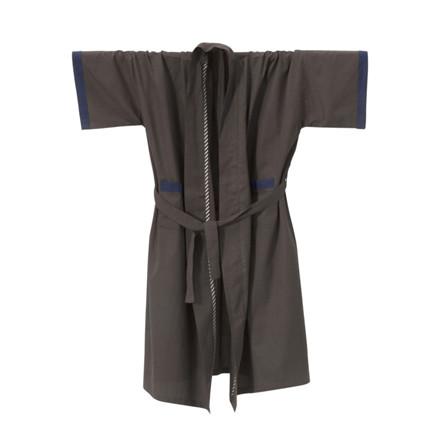 Ferm Living Bliss Kimono Badekåbe Mørke Grå