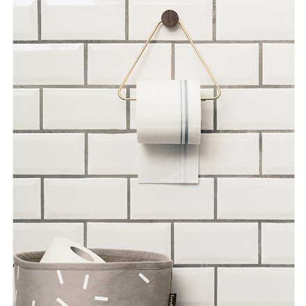 Ferm Living Toiletpapirholder Messing