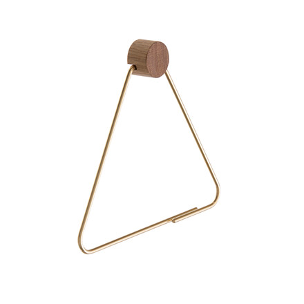 Ferm Living Toiletrulleholder Messing