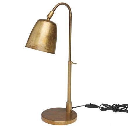 H. Skjalm P. Bordlampe Rå Messing