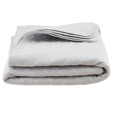 House Doctor sengetæppe Leh grå