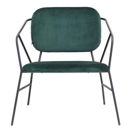 House Doctor Lounge Stol Klever Grøn