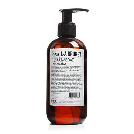 LA Bruket Håndsæbe-Bodywash Citrongræs 450 ml