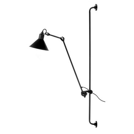 Lampe Gras Væglampe No. 214 Sort