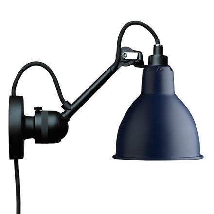 Lampe Gras Væglampe Sort-Blå No. 304 CA