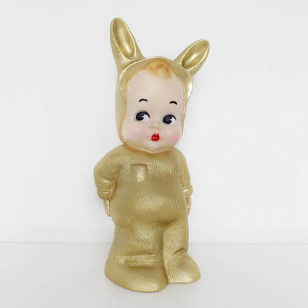 Lapin and Me Baby Lapin Lampe Guld