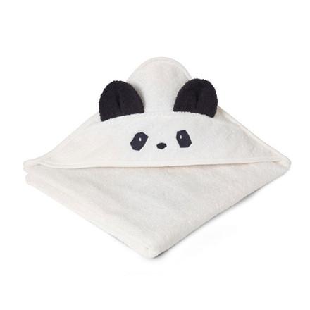 Liewood Håndklæde Panda Creme
