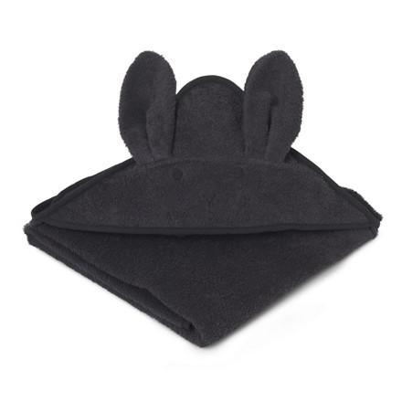 Liewood Håndklæde Kanin Mørke Grå