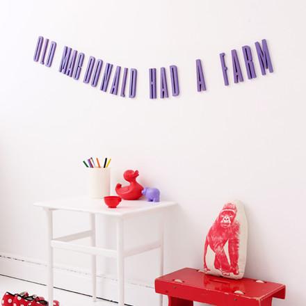 Design Letters Lilla