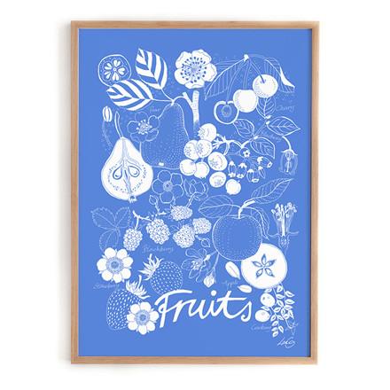 Lisa Grue Plakat Fruits