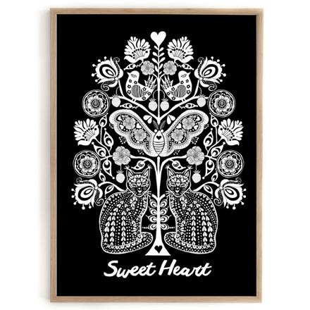 Lisa Grue Plakat Sweet Heart