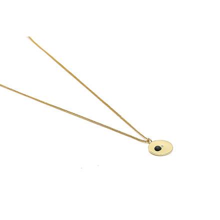 Louise Kragh Microdot 1 Halskæde guld