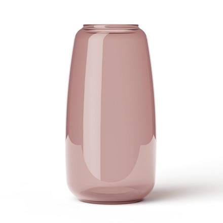 Lyngby Vase Form 130/3 Burgundy