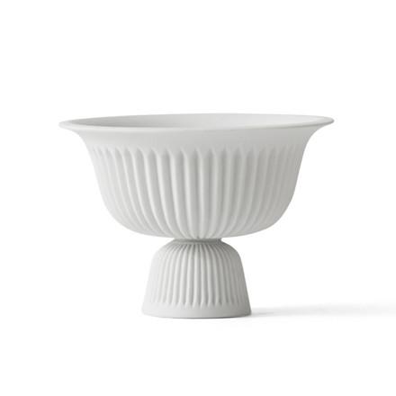Lyngby Porcelæn Tsé Lille Skål m. Fod Hvid