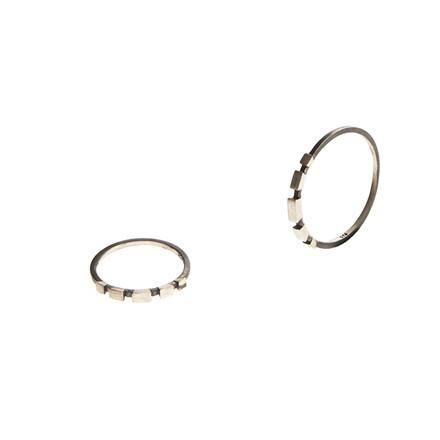 Maria Black Chuck Ring Oxideret