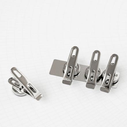 Monograph Klips m. Magneter Sølv