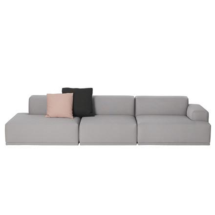 Muuto Connect Modul Sofa 3. personer openend